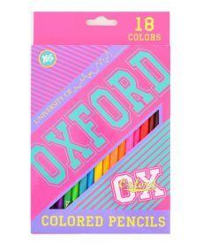 Карандаши 18 цв. ''Oxford''(pink)