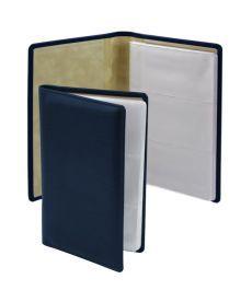 Папка визитница LaFontaine Brunnen кожа 125х200 мм синий 10-642 5530