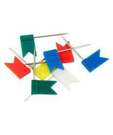 Кнопки гвоздики Axent флажки 30 шт 4215-A