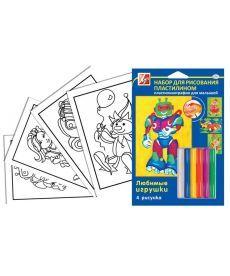 Набор для рисования пластилином ''Любимые игрушки'' 21С1363-08