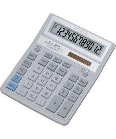 Калькулятор Citizen 12 разрядов бело-серый SDC-888 ХWH