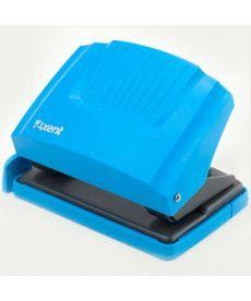 Дырокол Axent 20л Shell пластик верх голубой 3420-07-A