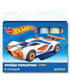 Мел штетной Kite Jumbo 6 шт Hot Wheels HW19-073