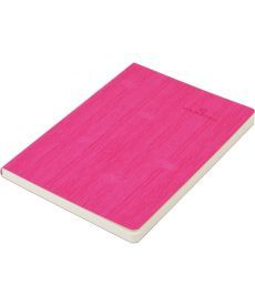 Записная книга блокнот Buromax COLOR TUNES А5 искусств. кожа 96л. линия розовый BM.295200-10
