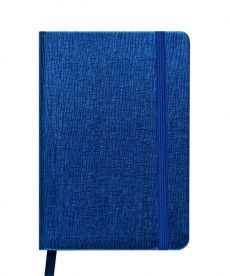 Записная книга блокнот Buromax INGOT 95x140мм искусств. кожа 80л. клетка синий BM.29012103-02
