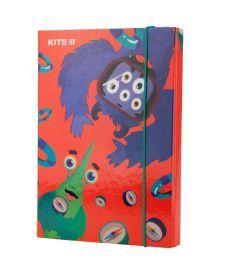 Папка для тетрадей B5, на резинках, картон, Jolliers Kite K19-210