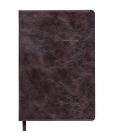 Записная книга блокнот Buromax BELLAGIO LOGO2U А5 искусств. кожа 96л. клетка коричневый BM.29521101-