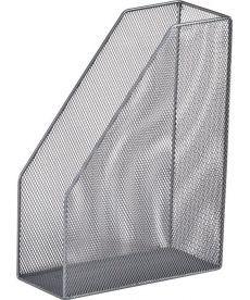 Лоток вертикальный 80x230x300мм металлический серебро