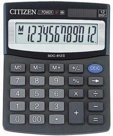 Калькулятор Citizen 12 разрядов SDC-812BII