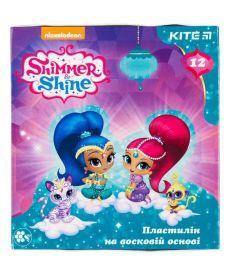 Пластилин Kite Shimmer&Shine 12 цв. восковый 240г SH18-1086