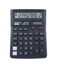 Калькулятор Brilliant 12 разрядов 2-питан. BS-0333