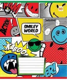 Тетрадь в линию 12 л. Yes А5 Smiley World 761394