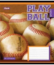 Тетрадь в клетку 24 л. 1 Вересня А5 Play ball 762477