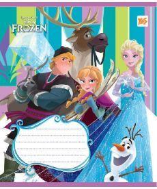 Тетрадь в линию 12 л. Yes А5 Frozen Story 762934