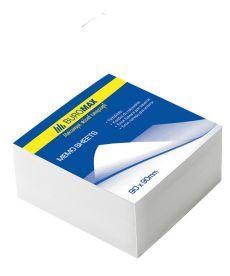 Блок бумаги для заметок проклеенный Buromax 90х90х50мм белый BM.2214
