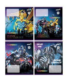 Тетрадь в линию 12 л. Kite А5 Transformers TF17-234