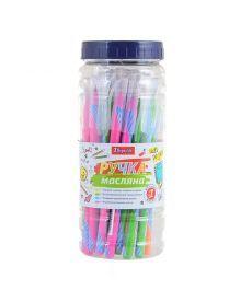 Ручка масляная 1 Вересня Nexus синий 411834