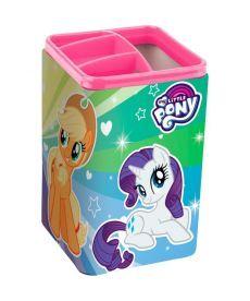 Стакан-подставка для ручек Kite My Little Pony квадратный LP19-105