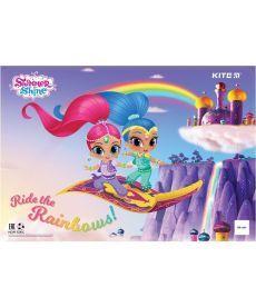 Подложка настольная Kite Shimmer&Shine 42,5х29см PP SH19-207