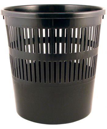 Корзина офисная для бумаг Axent черная D4007-01