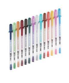 Ручка гелевая Sakura Metallic Зеленый 84511389212