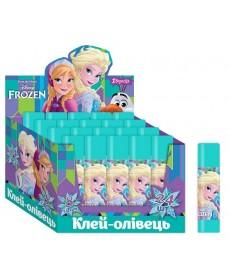 Клей-олівець 8г, PVA ''Frozen'' 1 Вересня 320227