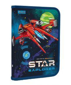 Папка для зошитів пласт. на блискавки В5 ''Star Explorer'' 1 Вересня 491585
