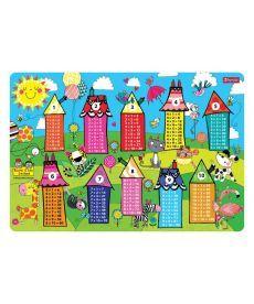 Підкладка для столу дитяча ''Таблиця множення ''Rachel Houses'' 1 Вересня 491644