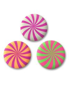 Ластик круглий ''Candy'', 2 кол./уп. Yes 560484