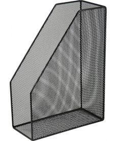 Лоток вертикальный Buromax 80x230x300мм метал чёрный BM.6260-01