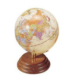 Глобус Bestar на деревянной подставке орех 0909WPN