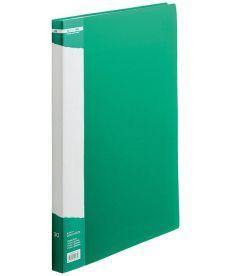 Папка c 30 файлами А4 зеленый