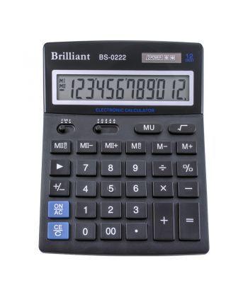Калькулятор Brilliant 12 разрядов 2-питан. BS-0222