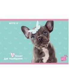 Альбом для рисования Kite A4 12л Studio Pets скоба sp19-241