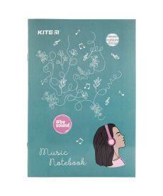 Тетрадь для нот Kite BeSound А4, 20 л k19-404-2
