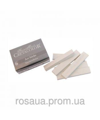 Палочки Белый мел 7x14 мм 6 шт./коробка Cretacolor