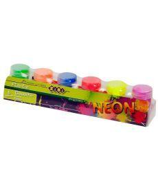 Краски гуашь ZiBi NEON 6 цветов 20мл ZB.6690