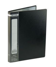Папка с файлами Дисплей-книга Buromax А5 микс цветов 20 файлов BM.3604-99