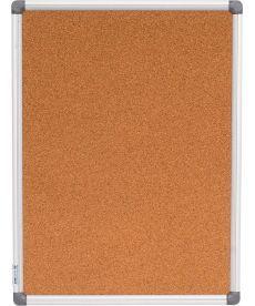 Доска Buromax пробковая 45Х60см алюминевая рама BM.0016