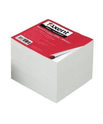 Блок бумаги для заметок непроклеенный Axent 90x90x70мм белый 8008-A
