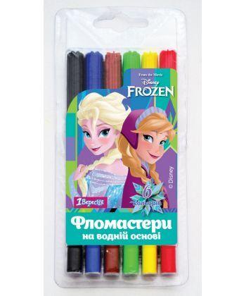 Фломастери 6 кол. ''Frozen'' 1 Вересня 650349