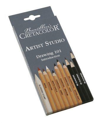 Набор карандашей для рисунка Artist Studio 11 шт. карт упаковка Cretacolor