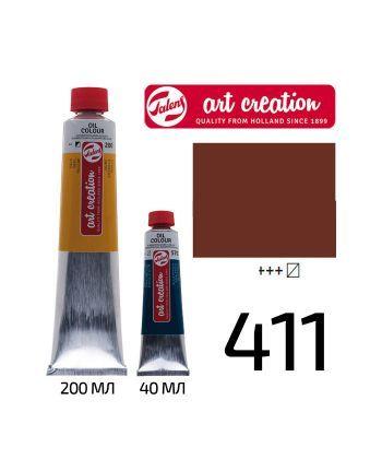 Краска масляная ArtCreation 411 Сиена жженая 200 мл Royal Talens