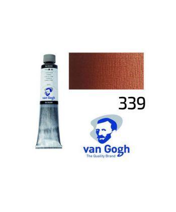Краска масляная Van Gogh 339 Английская красная 200 мл Royal Talens