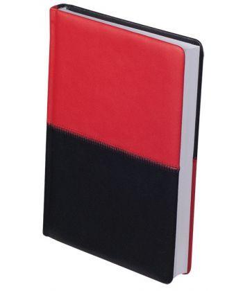 Ежедневник датированный А5 Buromax 288 стр. красный с черным QUATTRO BM.2024-94