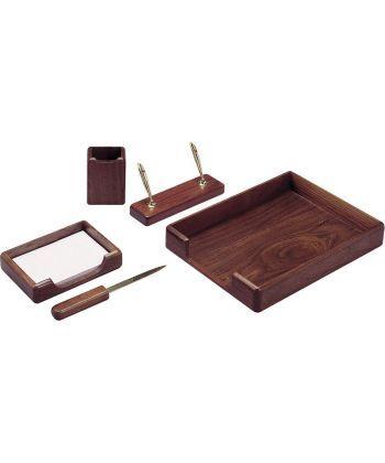 Набор настольный Bestar деревянный 5пр. орех 5138WDN