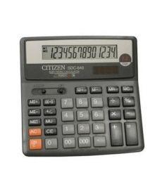 Калькулятор Citizen 14 разрядов SDC-640