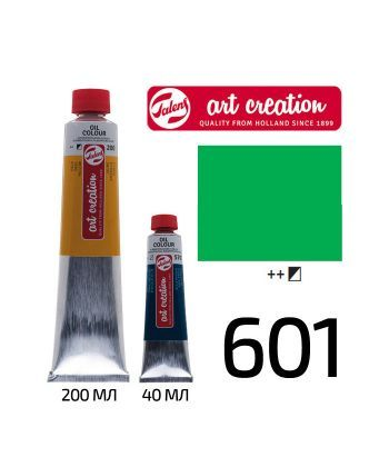 Краска масляная ArtCreation 601 Зеленый светлый 200 мл Royal Talens