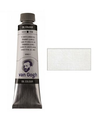 Краска масляная Van Gogh 105 Белила титановые 40 мл Royal Talens