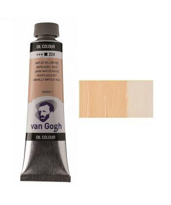 Краска масляная Van Gogh 224 Неополитанский желто-красный 40 мл Royal Talens